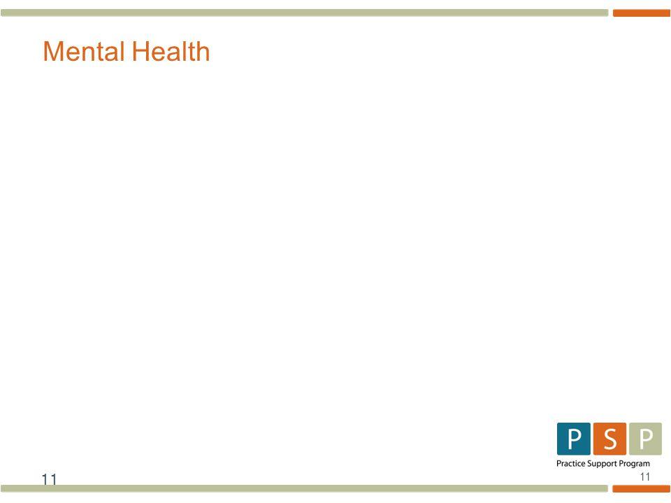 11 Mental Health