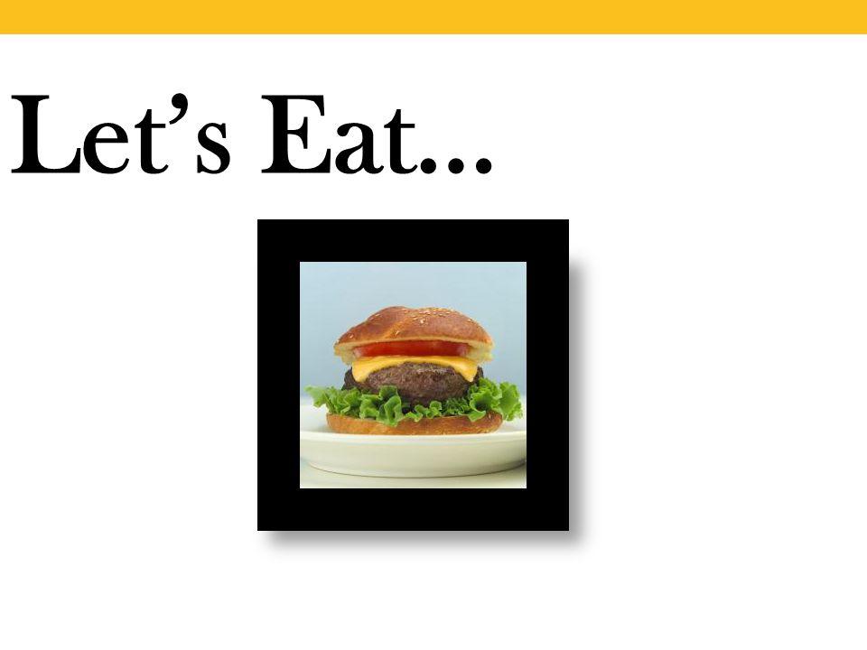 Let's Eat…