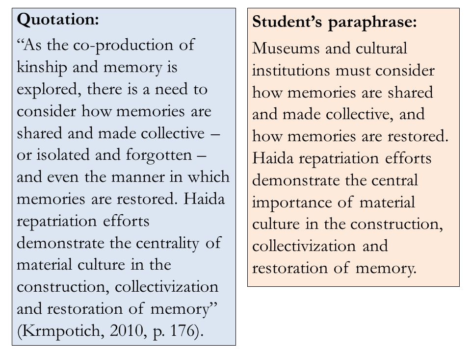 Quotation: As the co-production of kinship and memory is explored, there is a need to consider how memories are shared and made collective – or isolated and forgotten – and even the manner in which memories are restored.