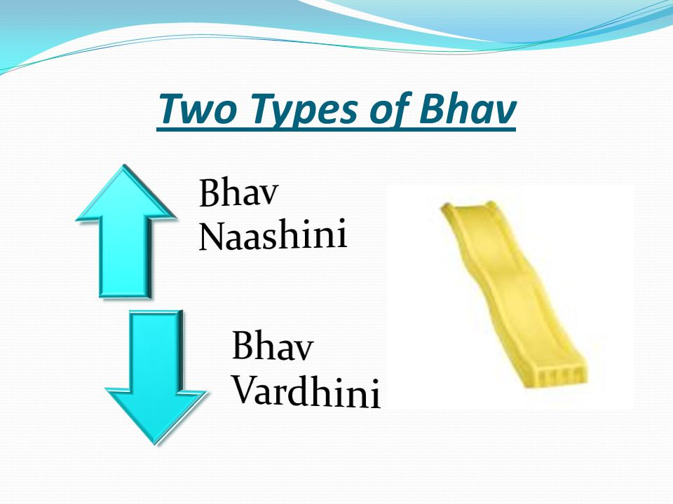 Two Types of Bhav