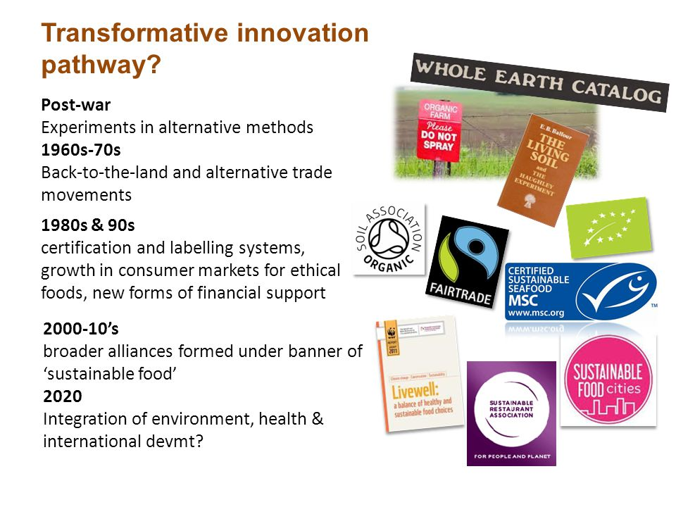 Transformative innovation pathway.