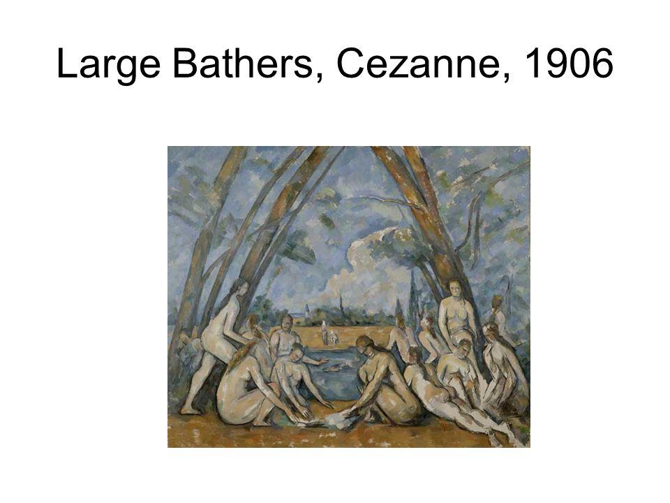 Large Bathers, Cezanne, 1906