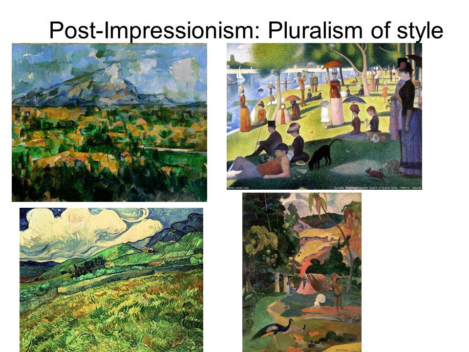 Post-Impressionism: Pluralism of style