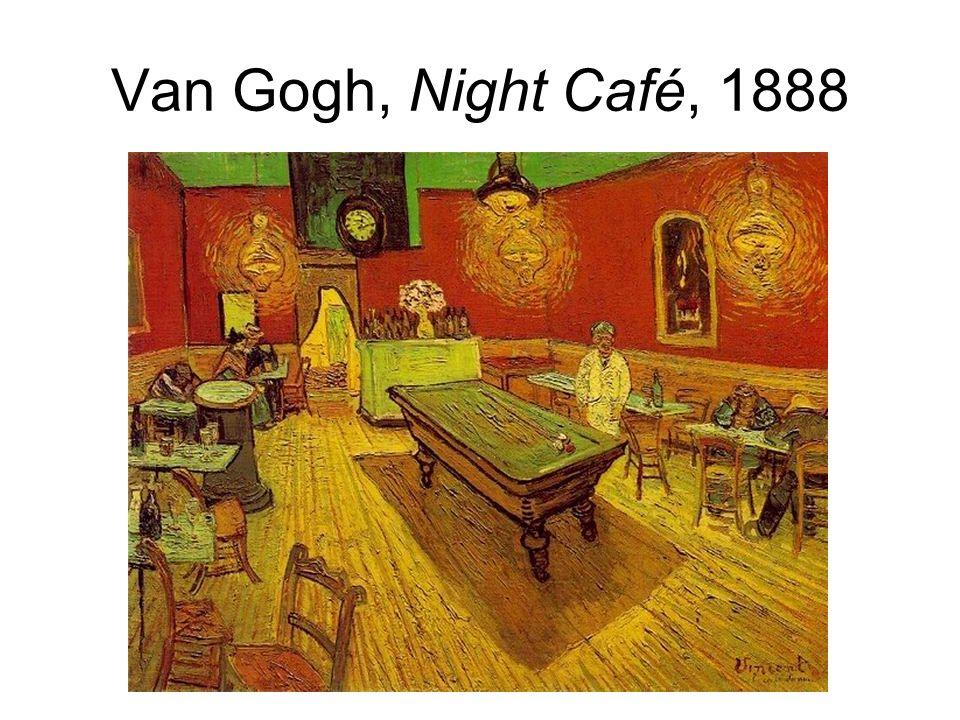 Van Gogh, Night Café, 1888