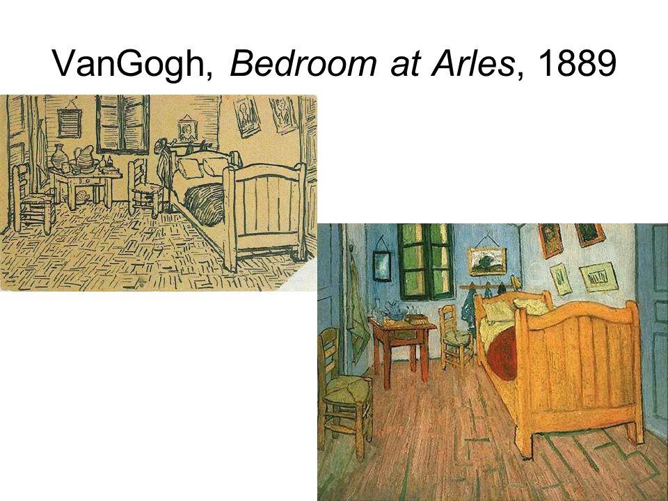 VanGogh, Bedroom at Arles, 1889