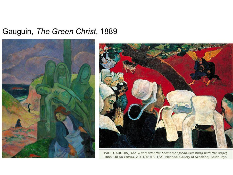 Gauguin, The Green Christ, 1889