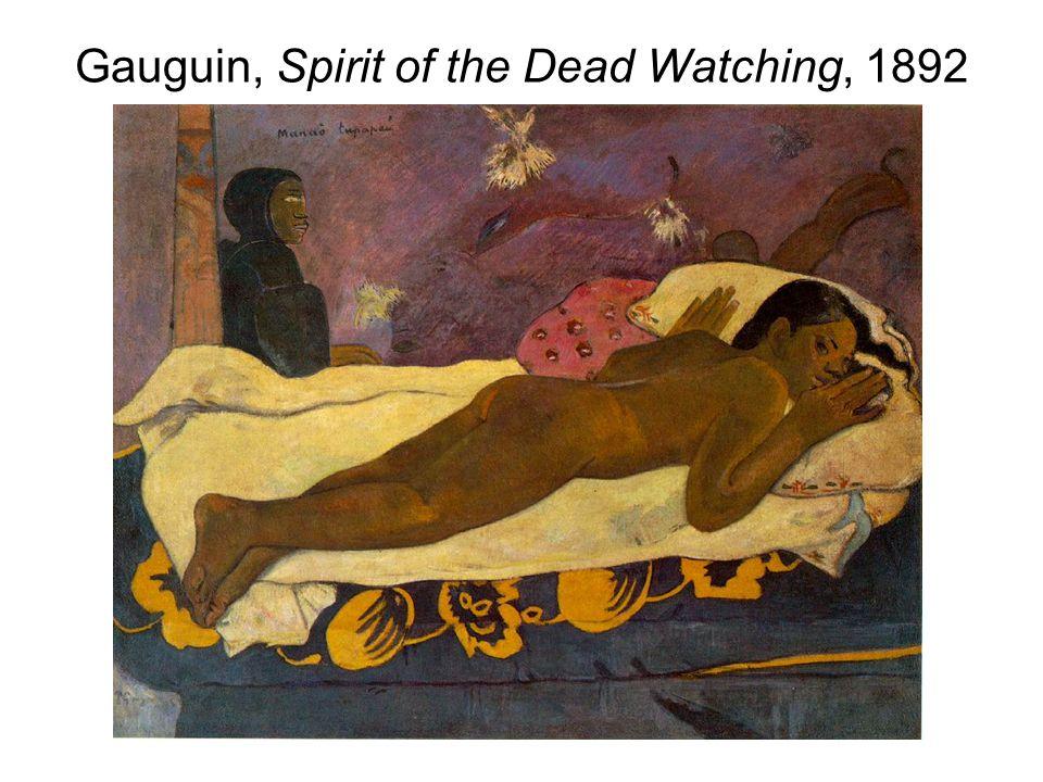 Gauguin, Spirit of the Dead Watching, 1892