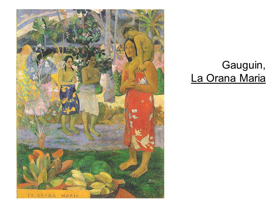 Gauguin, La Orana Maria