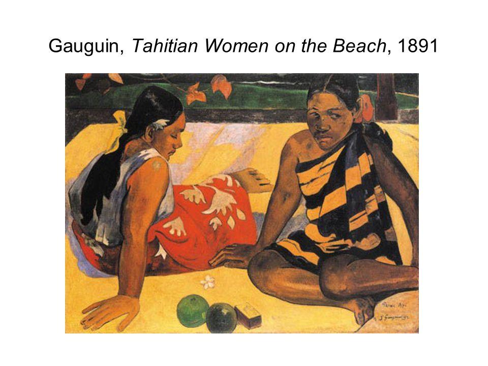 Gauguin, Tahitian Women on the Beach, 1891