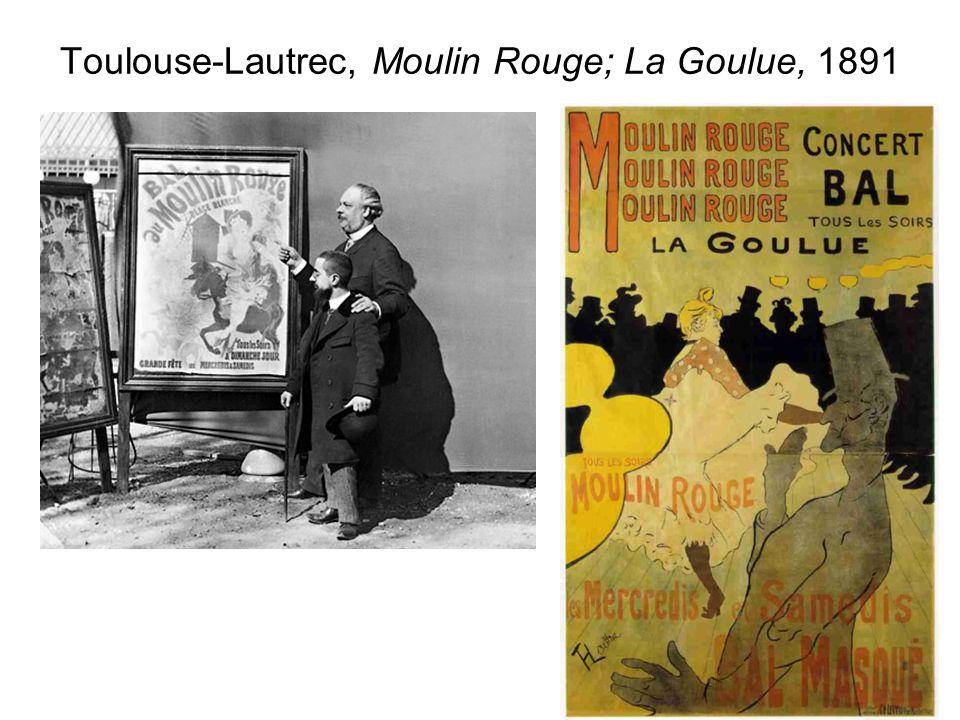 Toulouse-Lautrec, Moulin Rouge; La Goulue, 1891