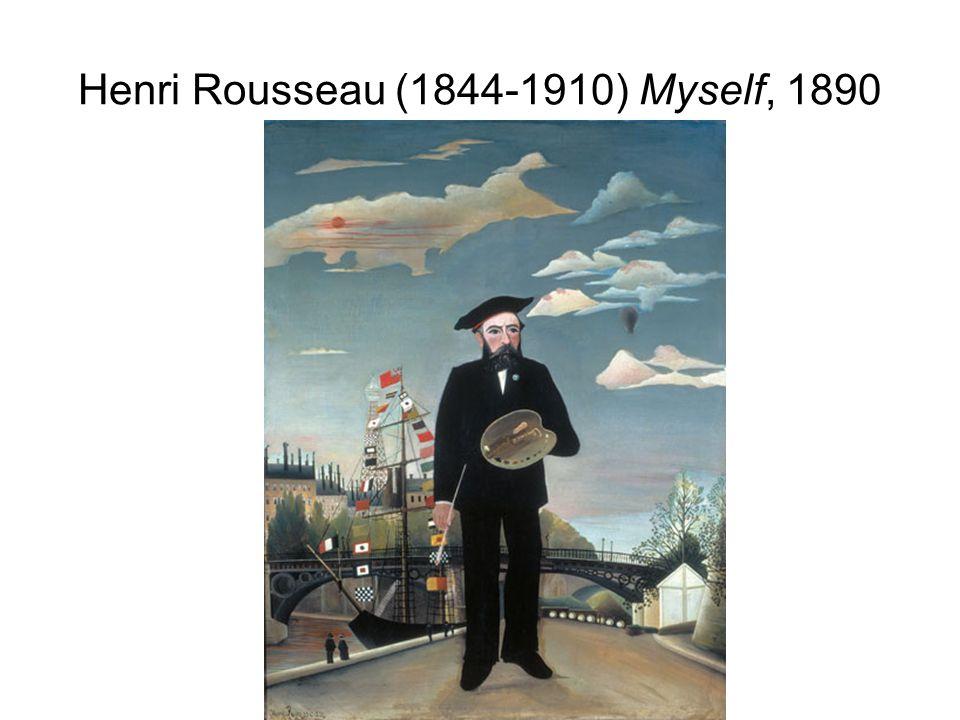 Henri Rousseau (1844-1910) Myself, 1890