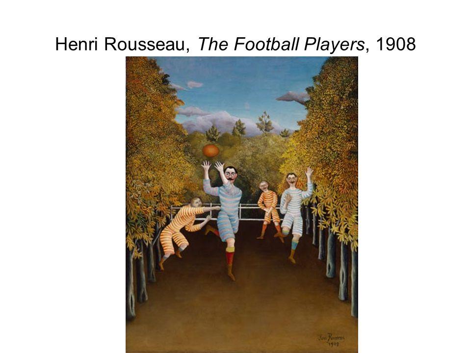Henri Rousseau, The Football Players, 1908