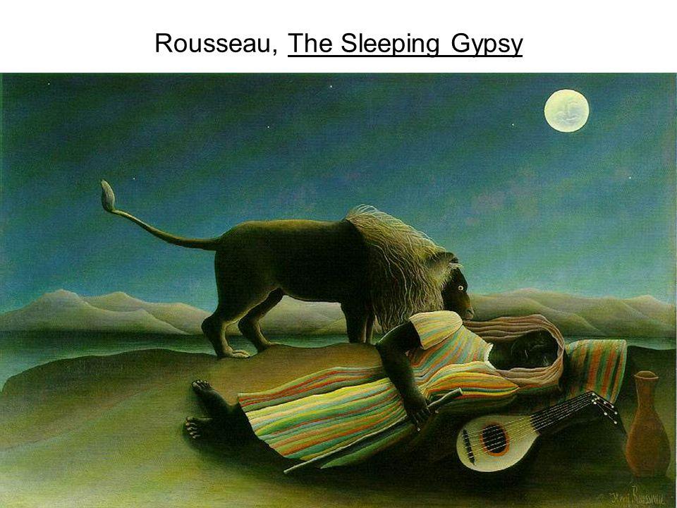 Rousseau, The Sleeping Gypsy