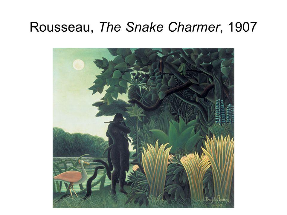 Rousseau, The Snake Charmer, 1907