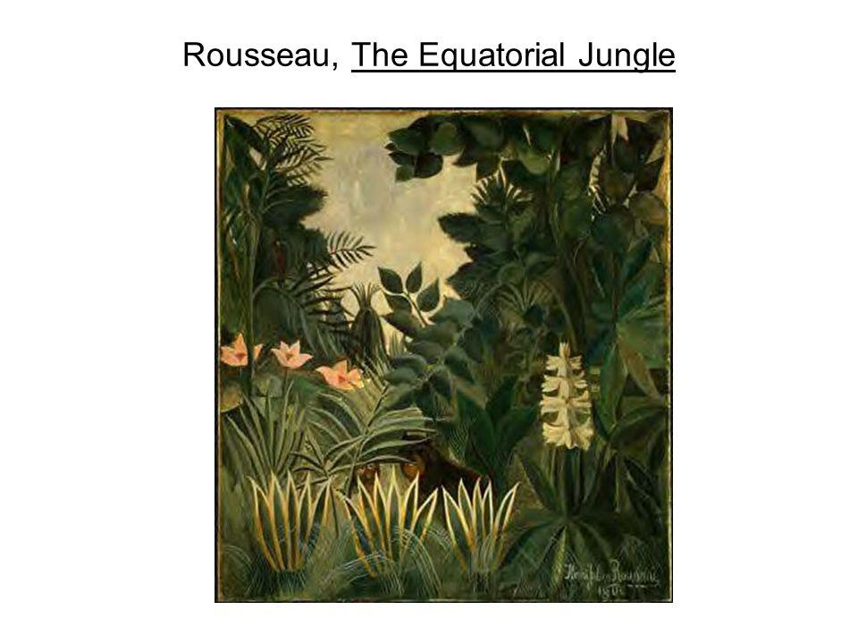 Rousseau, The Equatorial Jungle