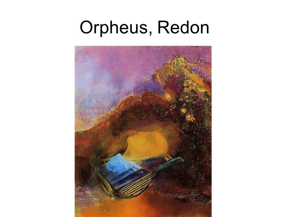 Orpheus, Redon