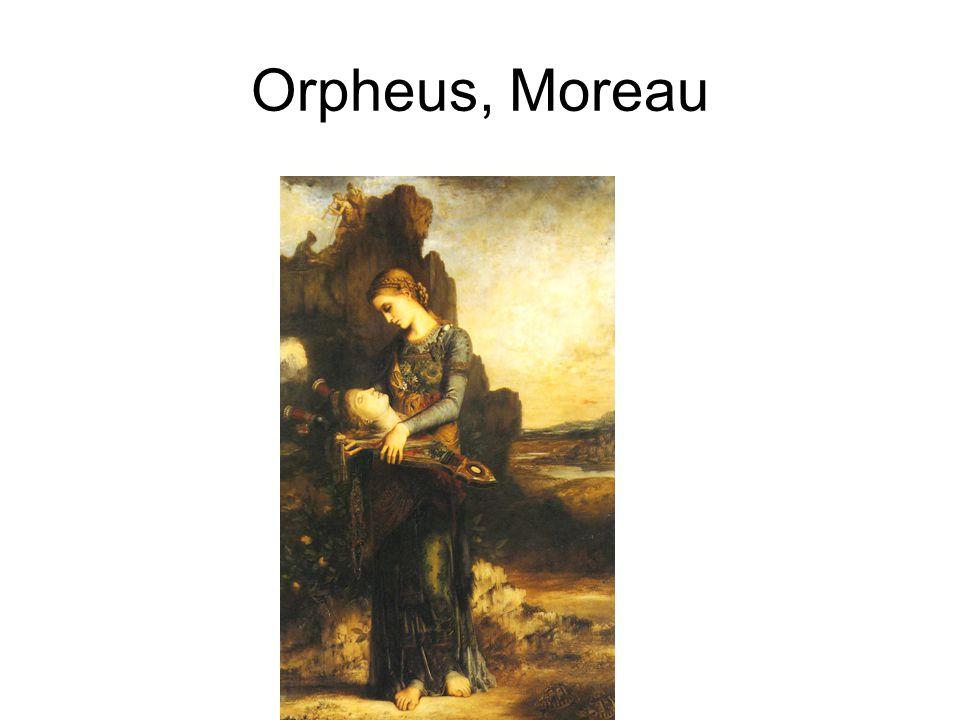 Orpheus, Moreau