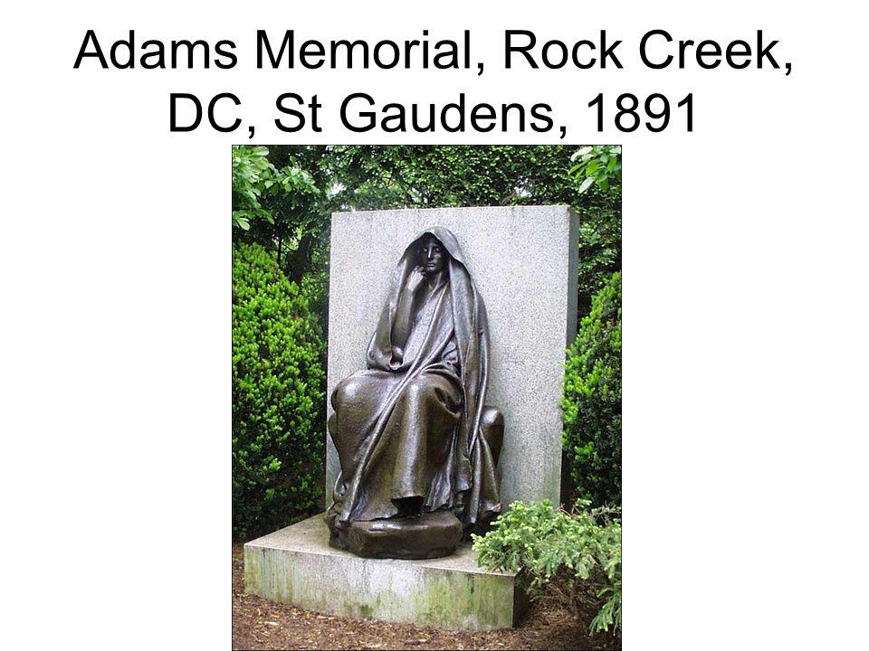 Adams Memorial, Rock Creek, DC, St Gaudens, 1891