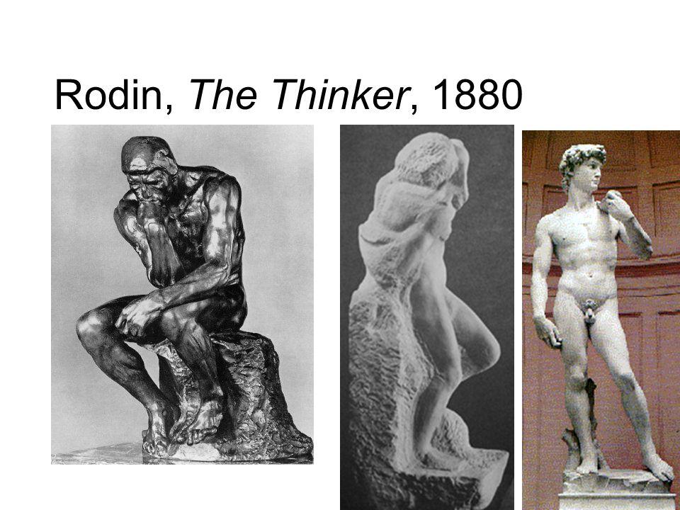 Rodin, The Thinker, 1880