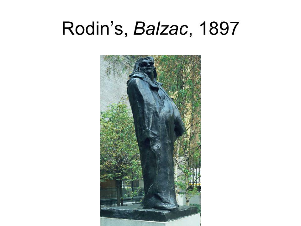 Rodin's, Balzac, 1897