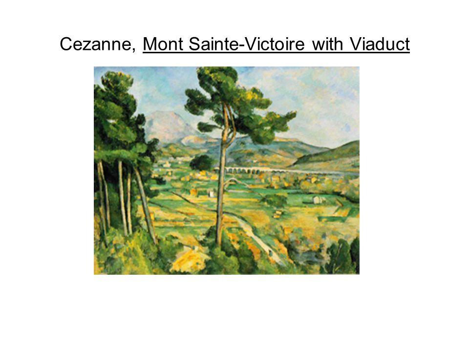 Cezanne, Mont Sainte-Victoire with Viaduct