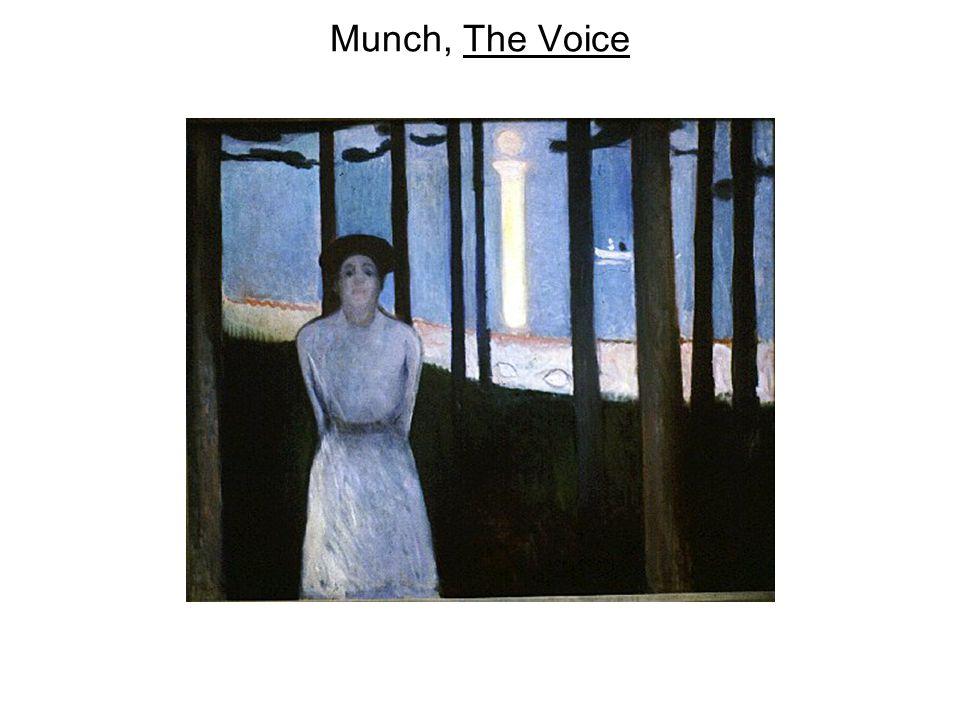 Munch, The Voice
