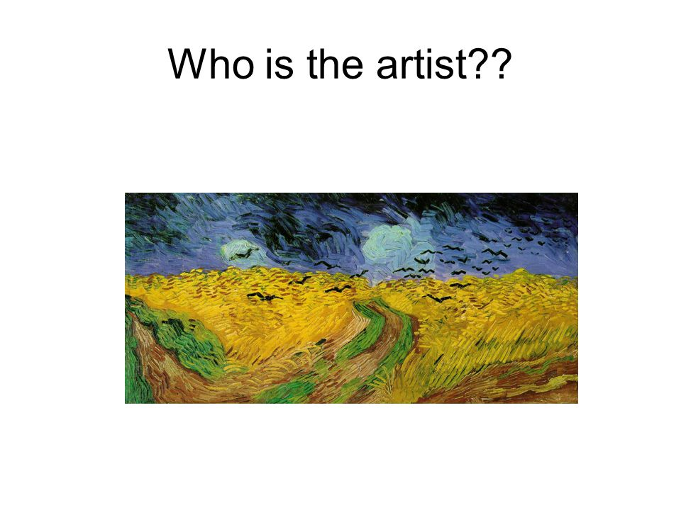 Who is the artist