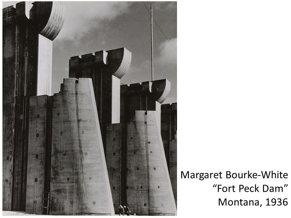 Margaret Bourke-White Fort Peck Dam Montana, 1936