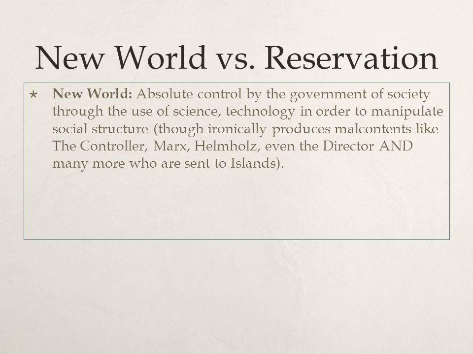 New World vs.