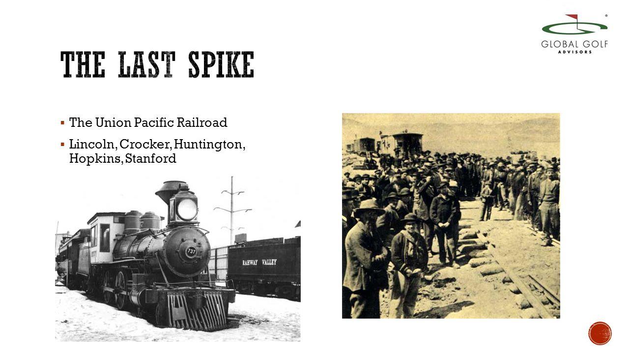  The Union Pacific Railroad  Lincoln, Crocker, Huntington, Hopkins, Stanford