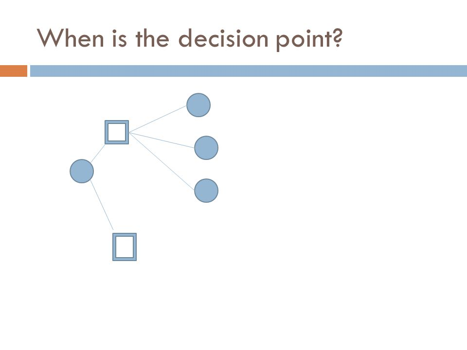 When is the decision point?