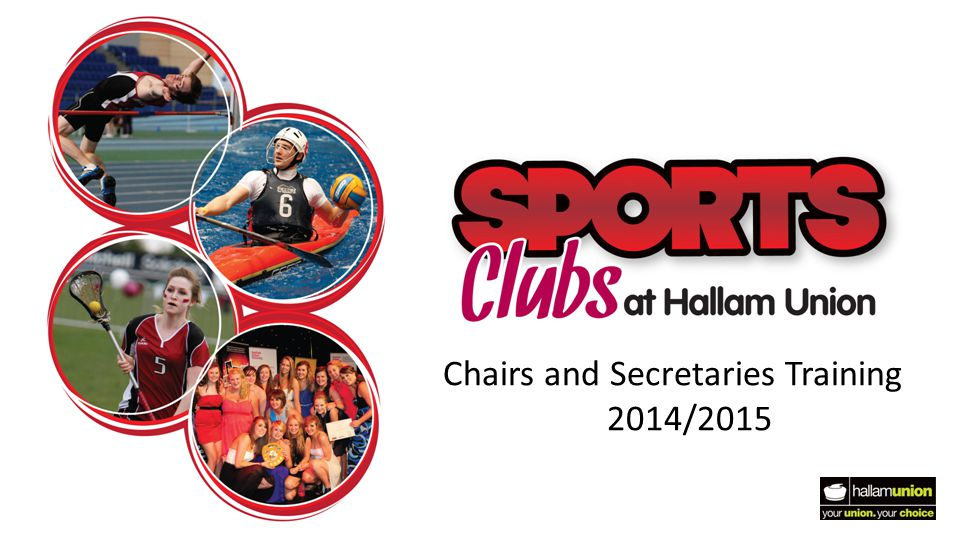 Chairs and Secretaries Training 2014/2015