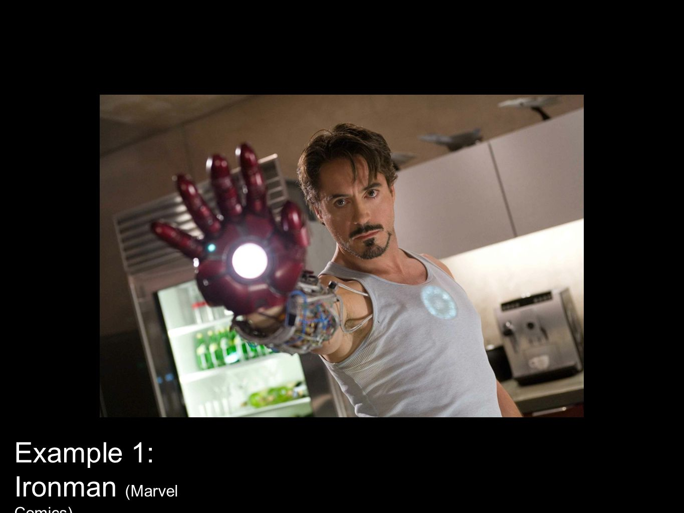 Example 1: Ironman (Marvel Comics)