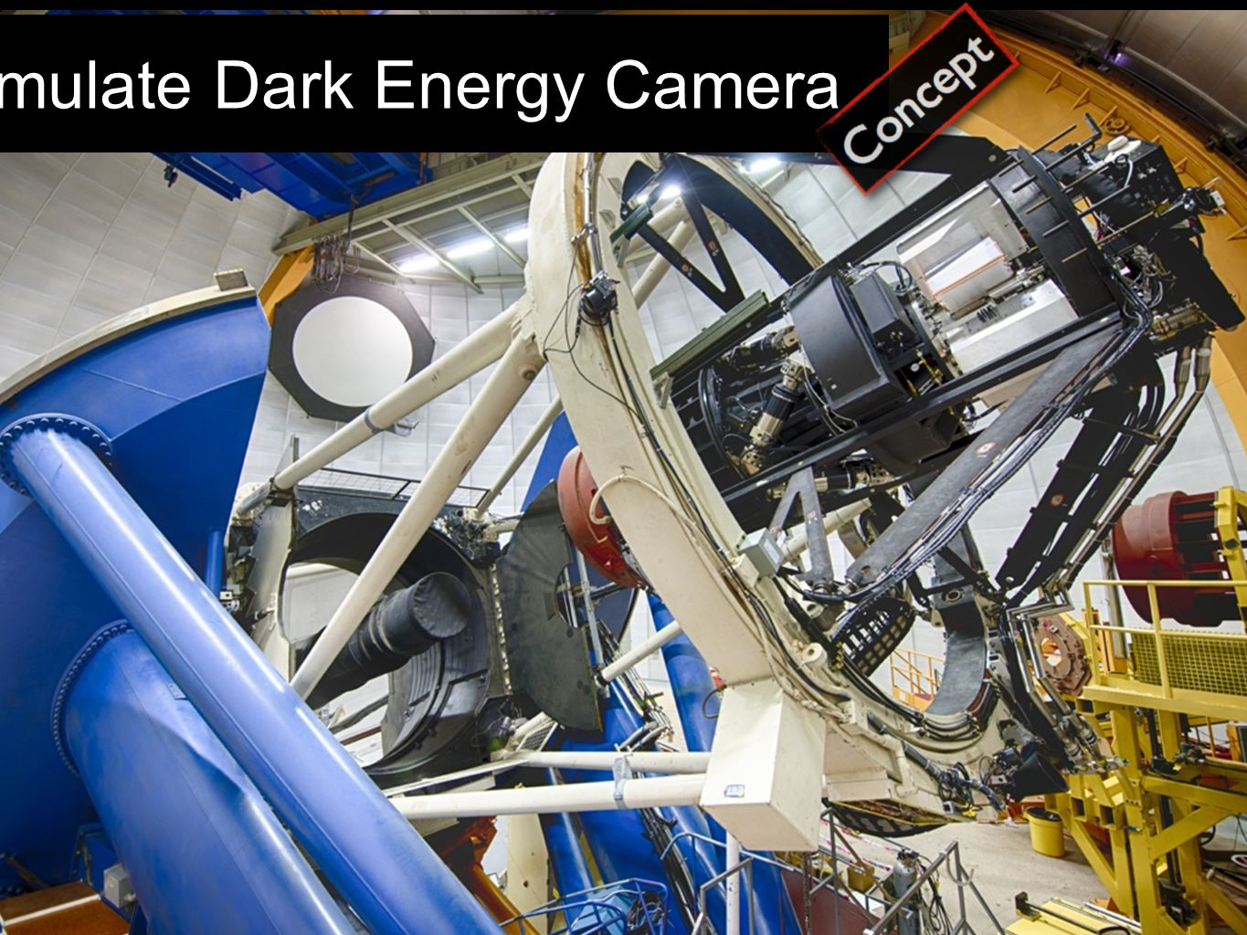 Simulate Dark Energy Camera