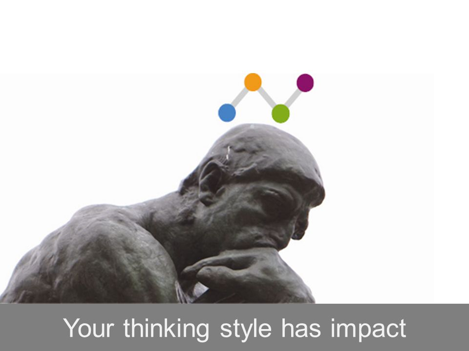Your thinking style has impact