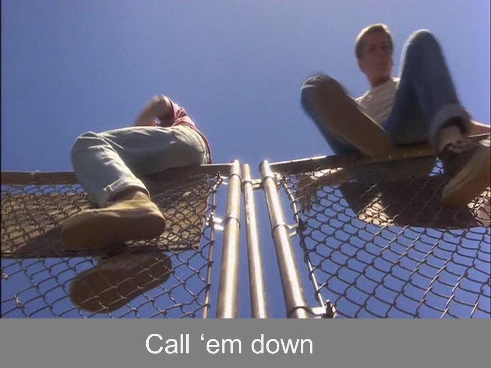 Call 'em down