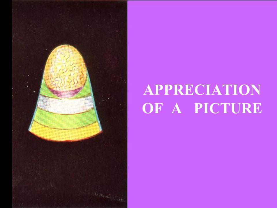 APPRECIATION OF A PICTURE
