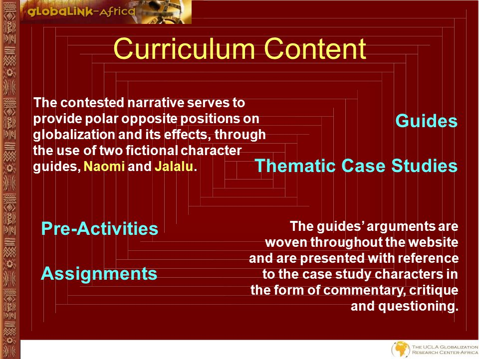 Key Concepts & Student Themes