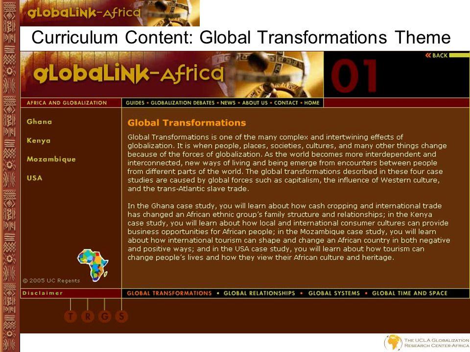 Curriculum Content: Jalalu