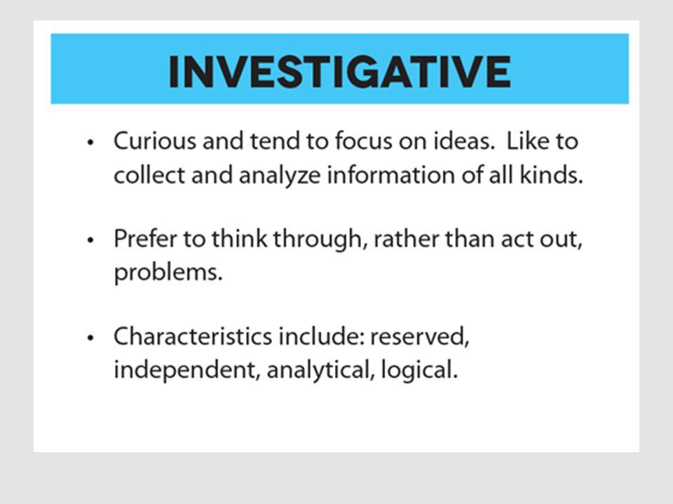 Investigative