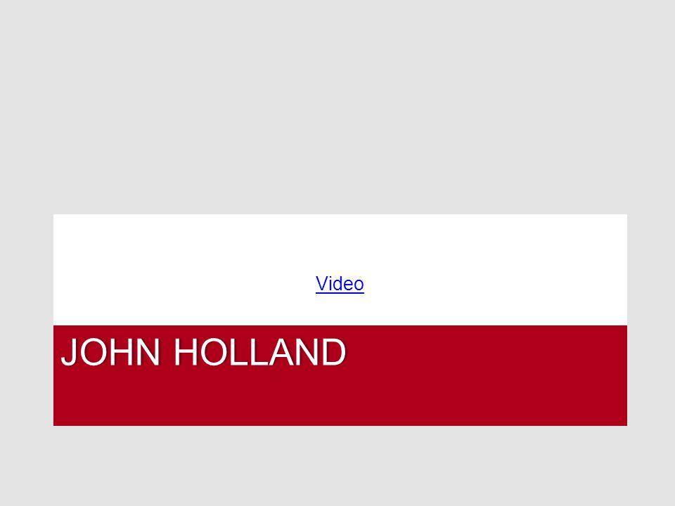 JOHN HOLLANDJOHN HOLLAND Video