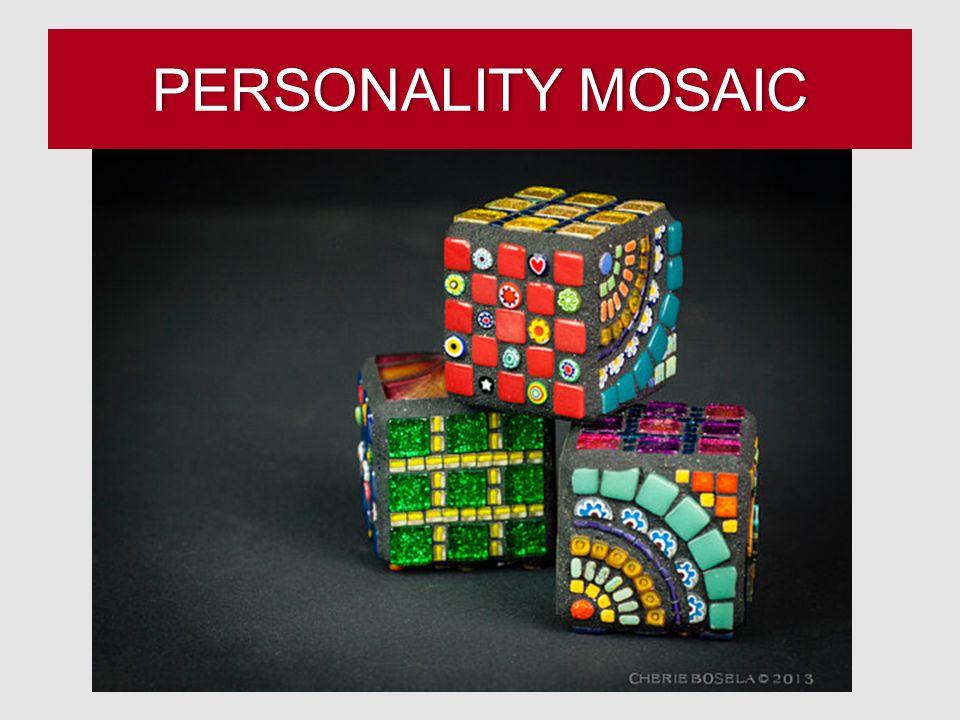 PERSONALITY MOSAICPERSONALITY MOSAIC