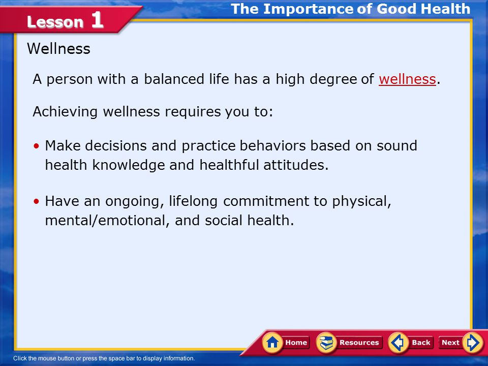 Lesson 1 Choose the appropriate option.1. Health education 2.
