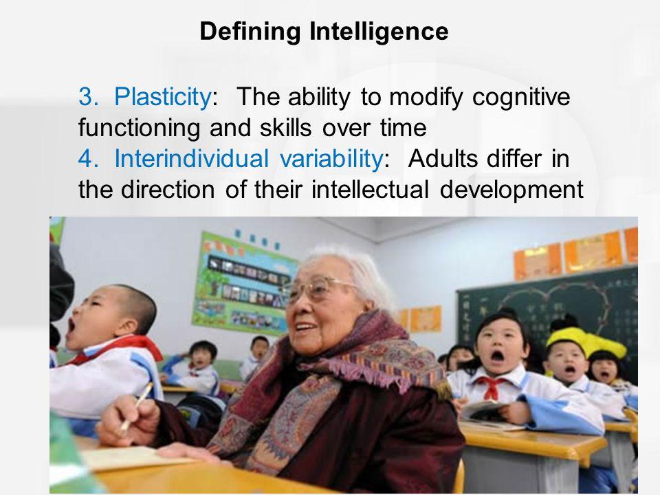 Defining Intelligence 3.