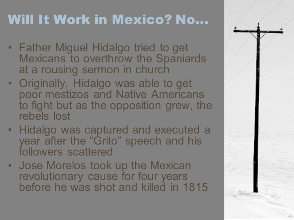 Will It Work in Mexico.