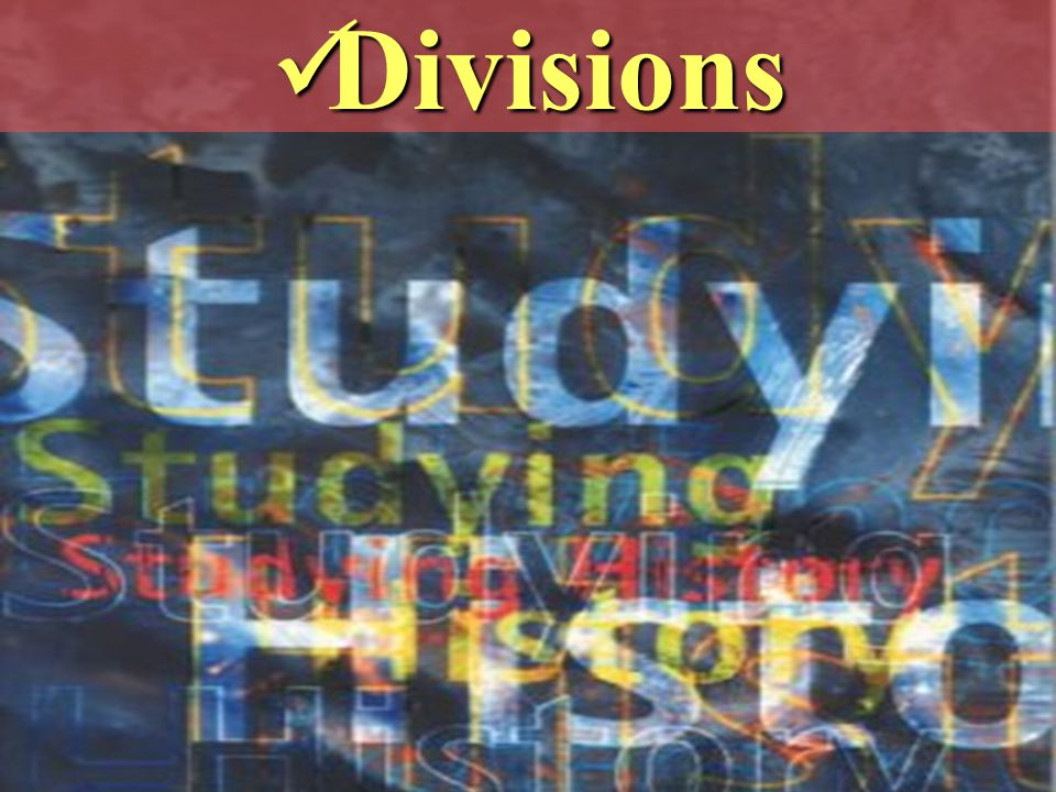 Divisions Divisions