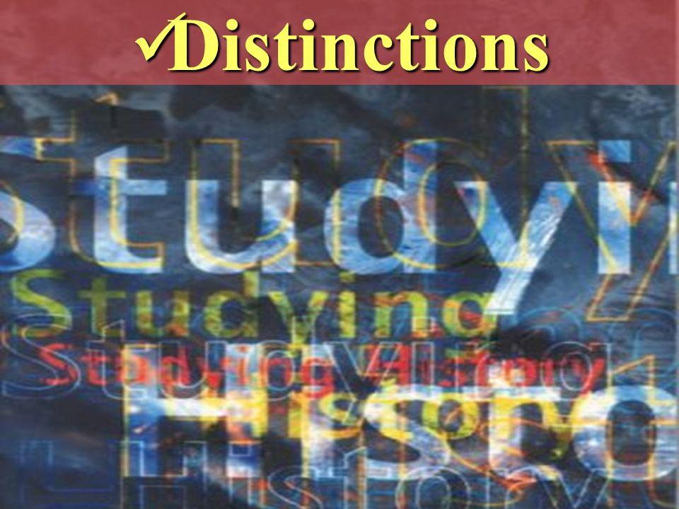 Distinctions Distinctions