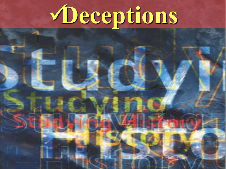 Deceptions Deceptions