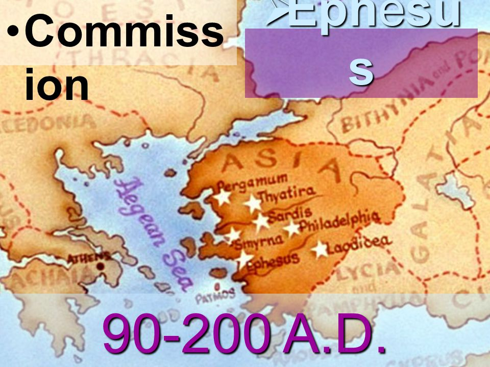 Commiss ion  Ephesu s 90-200 A.D.
