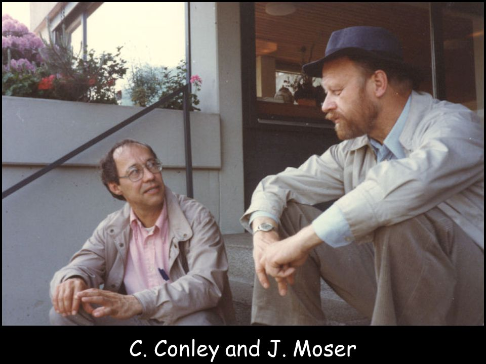 C. Conley and J. Moser